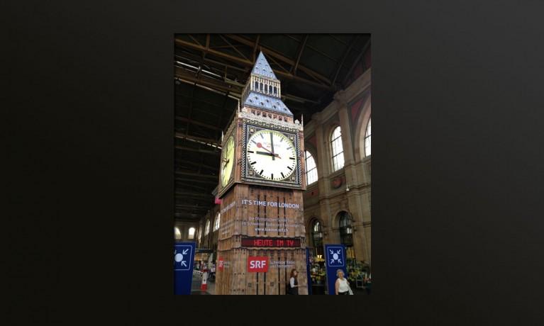 Big Ben Olympische Spiele 2012