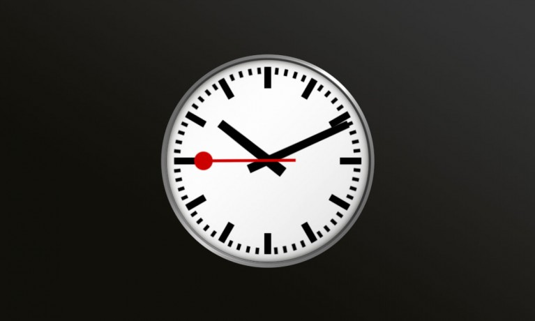 SwissRailwayClock iPhone