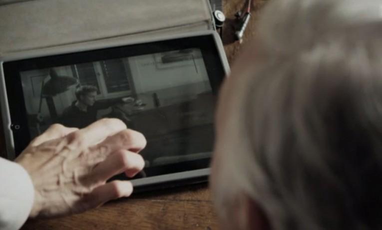 Der Bestatter – iPad auf dem Filmset
